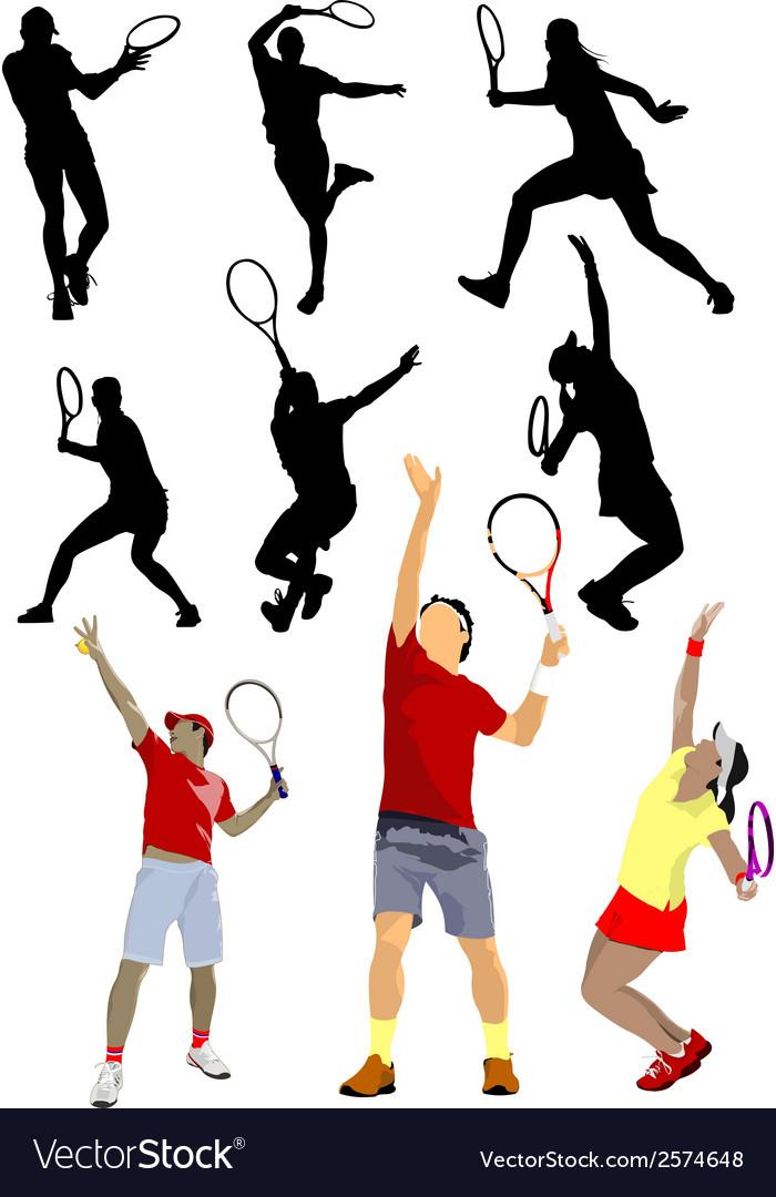 6120 tennis set vector   Price: 1 Credit (USD $1)