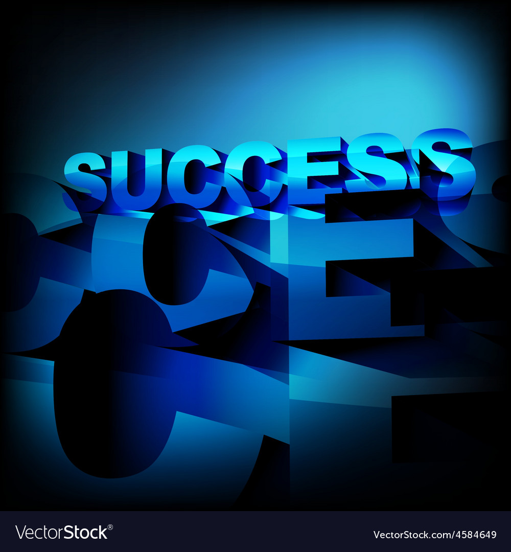 Abstract success background vector | Price: 1 Credit (USD $1)