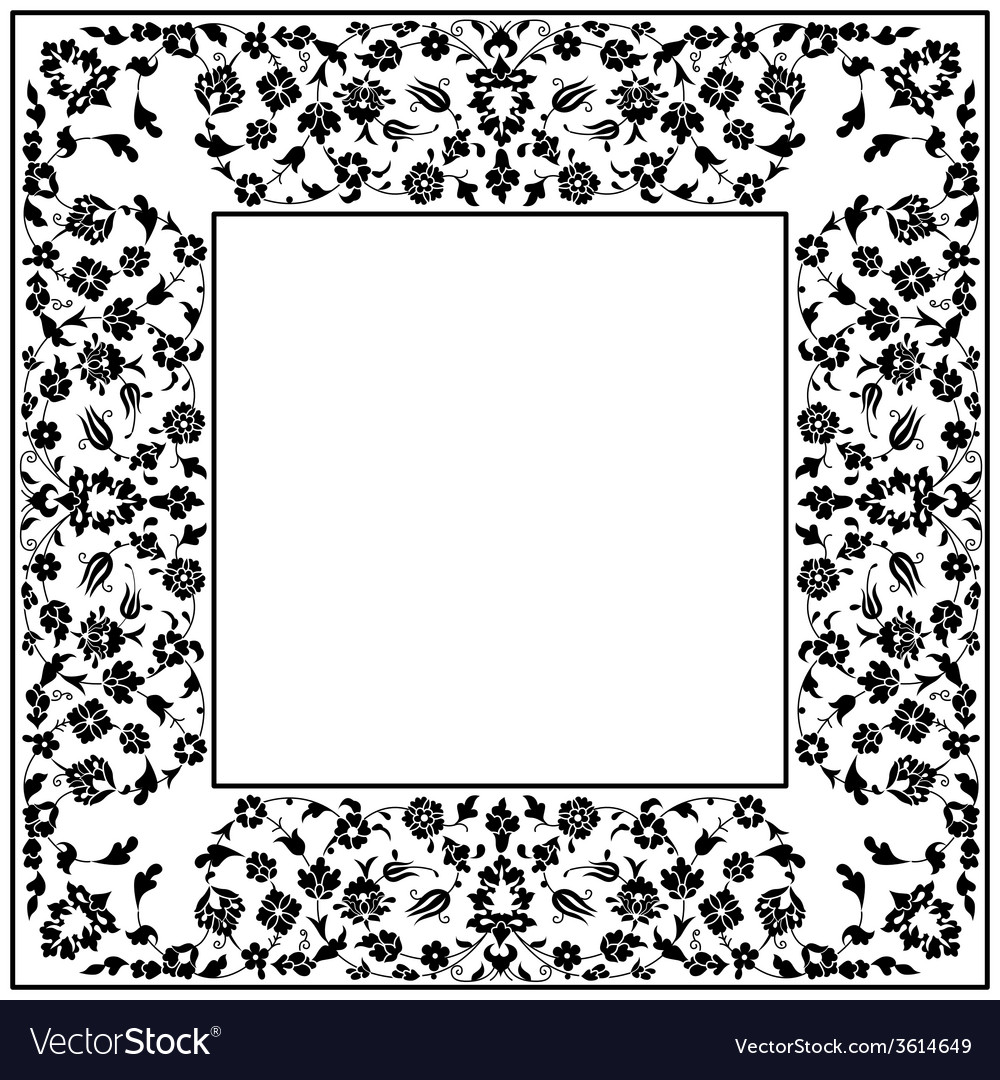 Artistic ottoman pattern series fourty vector   Price: 1 Credit (USD $1)