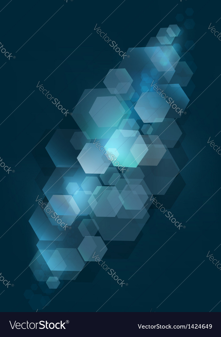 Blue mesh background with silver rhomb vector | Price: 1 Credit (USD $1)