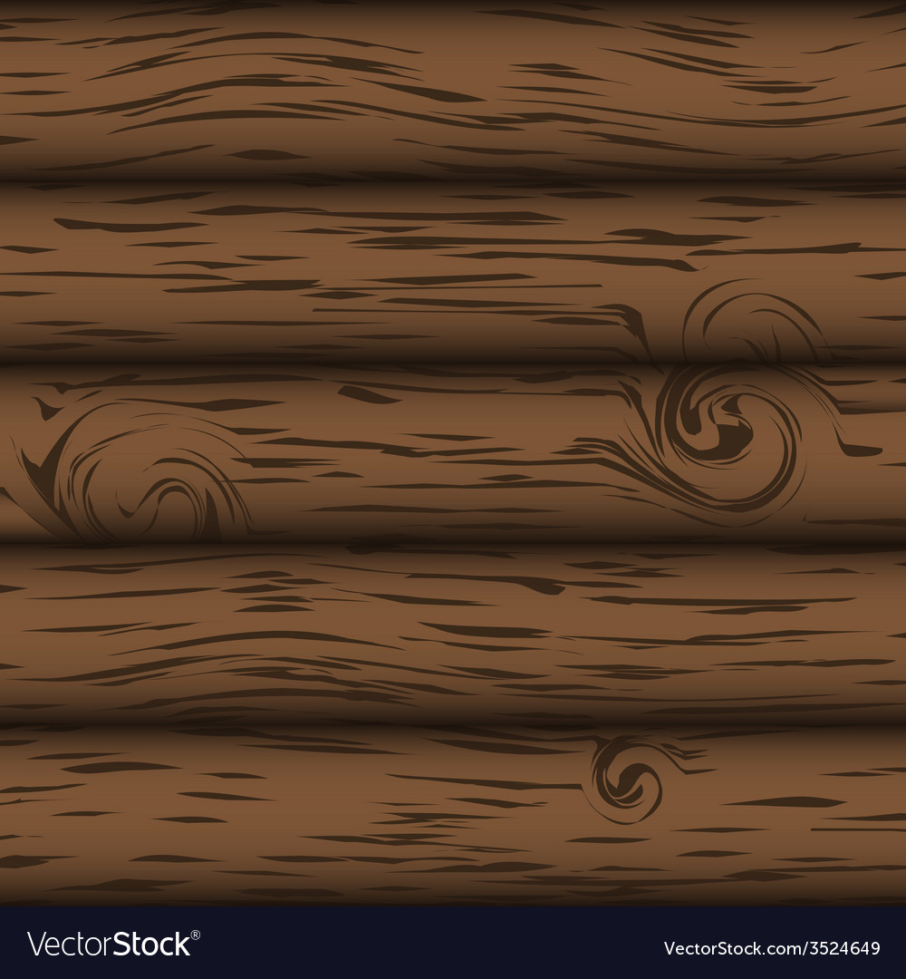 Brown wood simple background eps10 vector | Price: 1 Credit (USD $1)