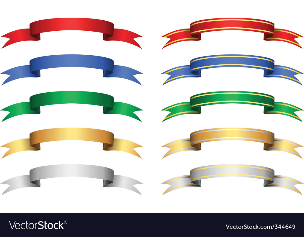 colorful banner set vector | Price: 1 Credit (USD $1)