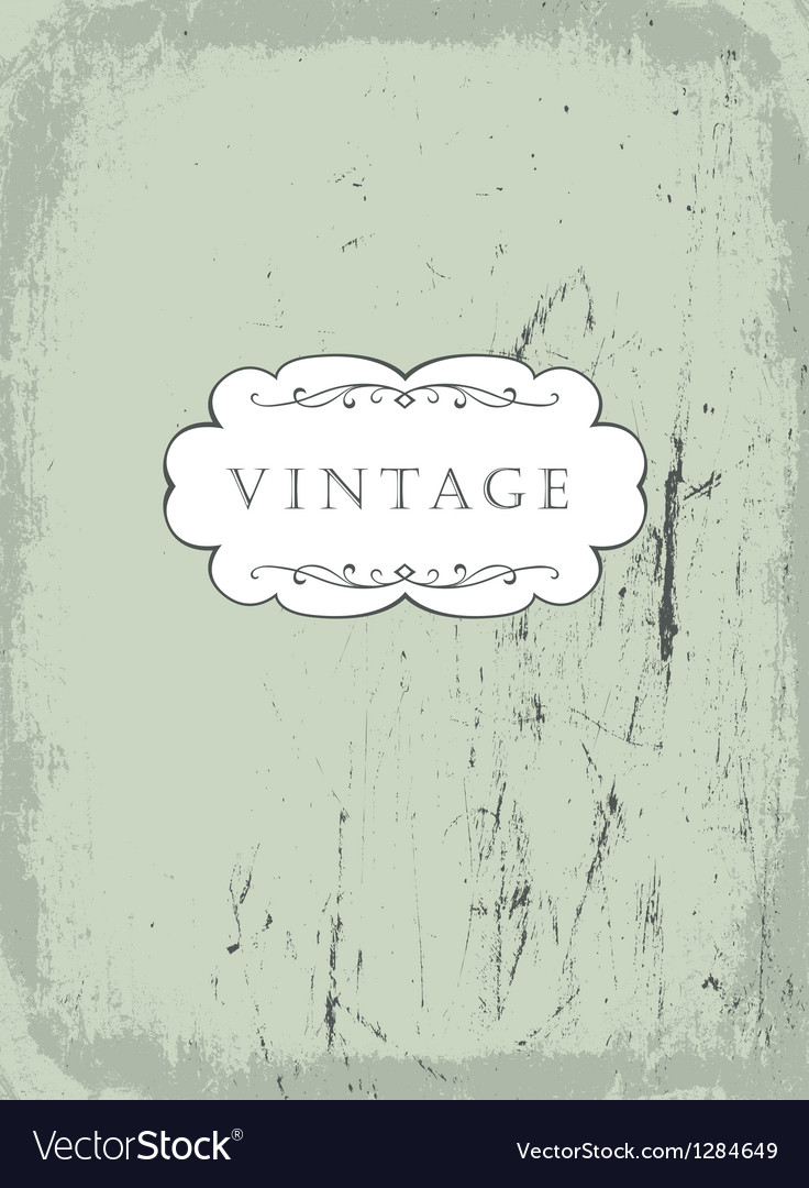 Scrathed vintage background vector | Price: 1 Credit (USD $1)