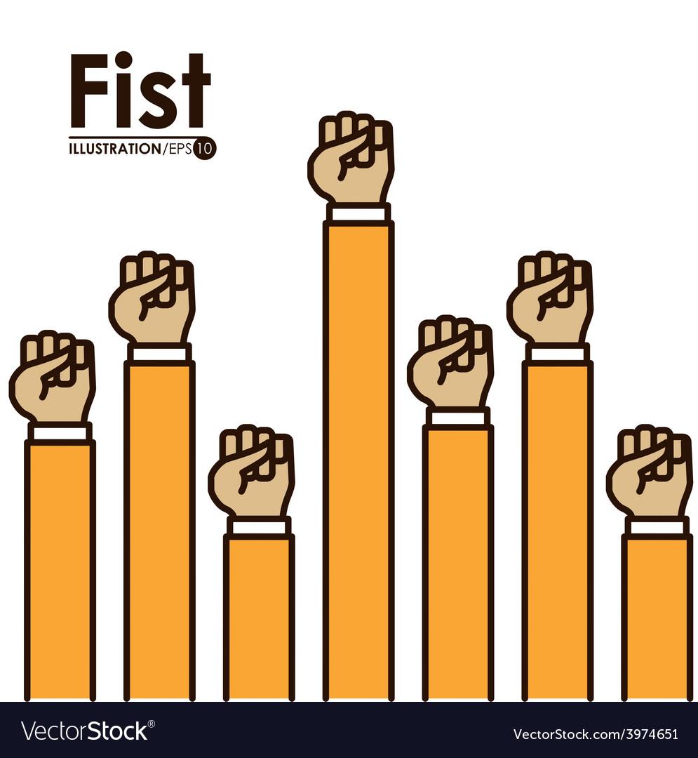 Hands signals vector   Price: 1 Credit (USD $1)