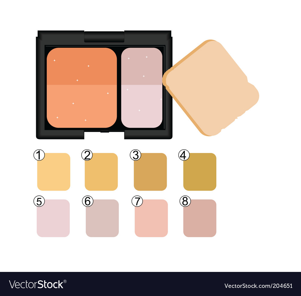 Makeup collection vector | Price: 1 Credit (USD $1)