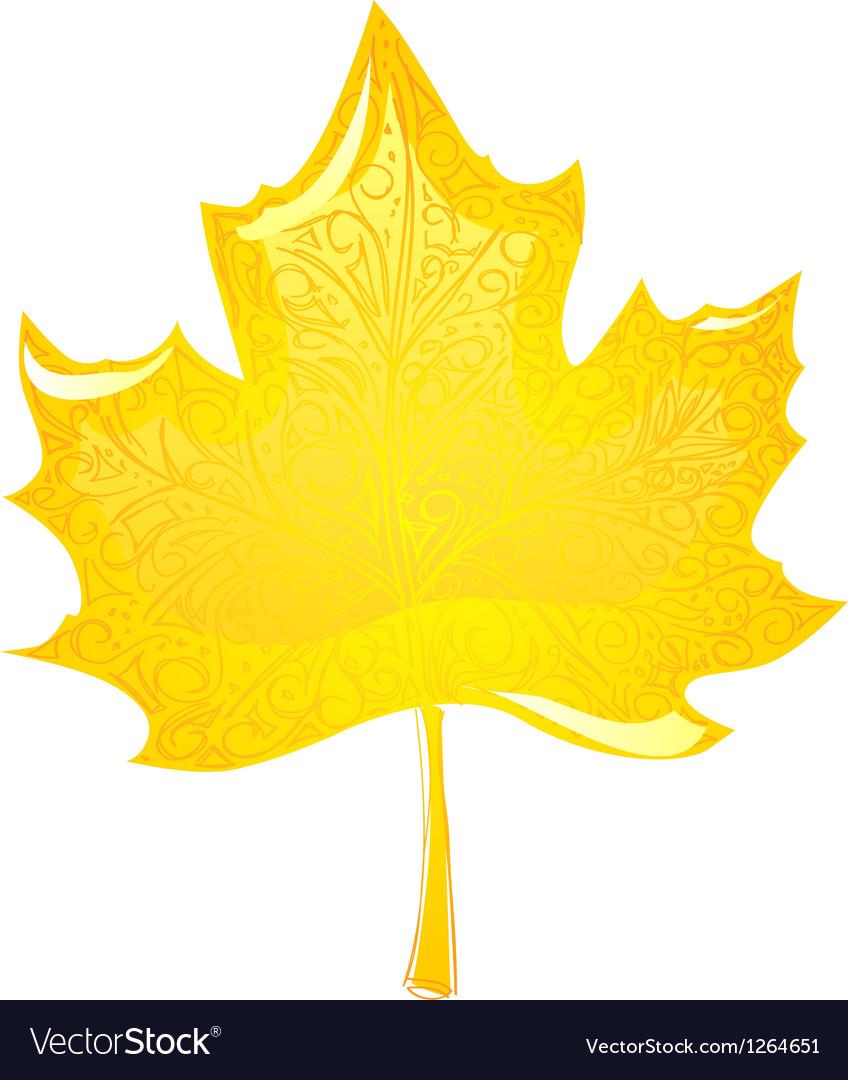 Maple leaf vector | Price: 1 Credit (USD $1)