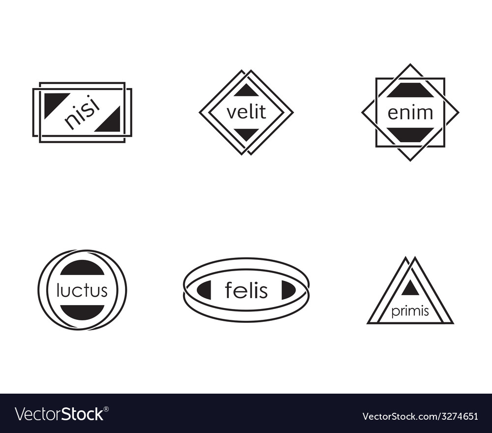 Modern labels vector | Price: 1 Credit (USD $1)