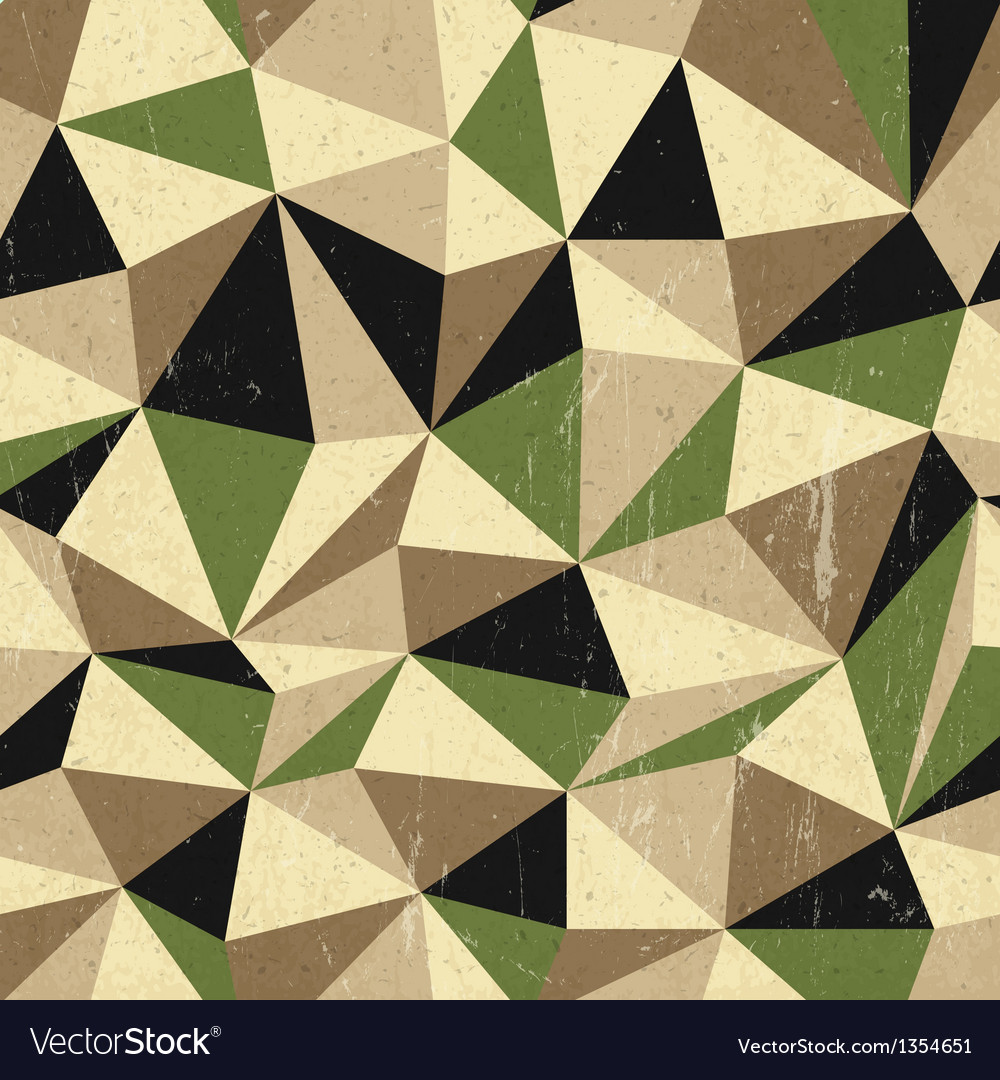 Retro triangles background vector | Price: 1 Credit (USD $1)