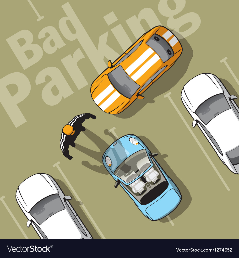 Bad parking vector | Price: 5 Credit (USD $5)