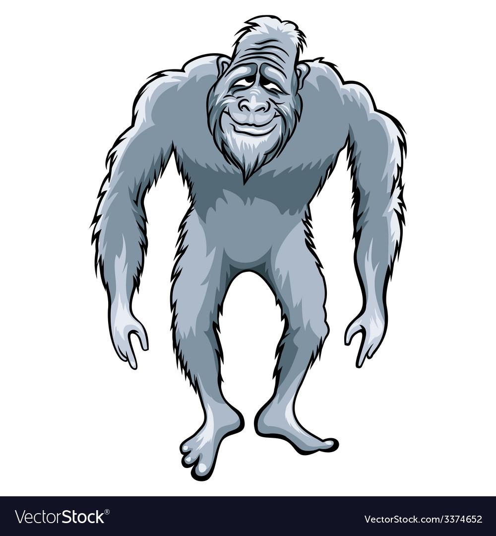 Bigfoot vector | Price: 3 Credit (USD $3)