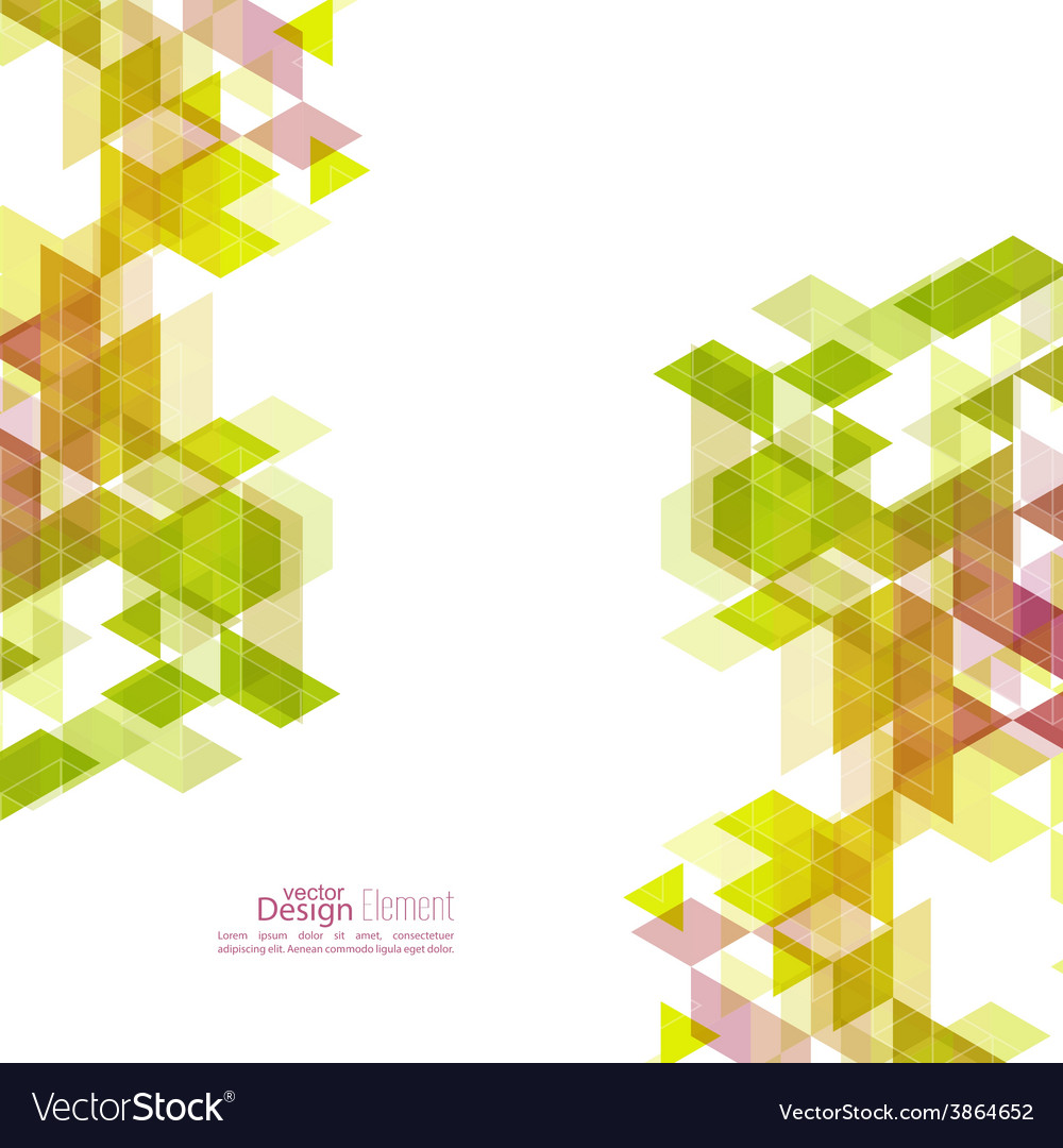 Creative abstract triangle pattern vector   Price: 1 Credit (USD $1)