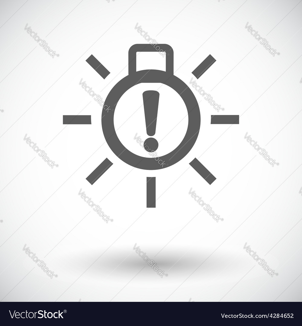 Exterior bulb failure vector | Price: 1 Credit (USD $1)