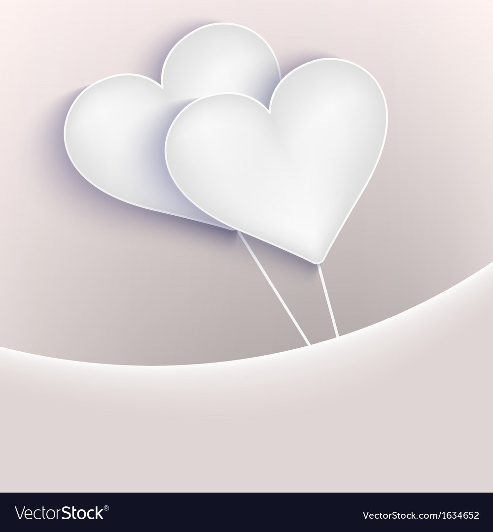 Valentine background with hearts eps 10 vector | Price: 1 Credit (USD $1)