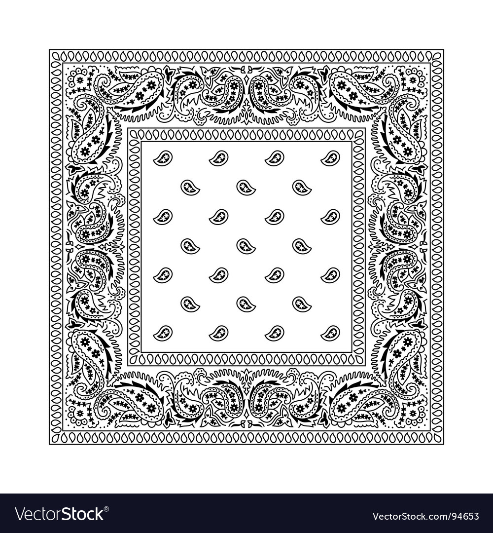 Bandana vector | Price: 1 Credit (USD $1)