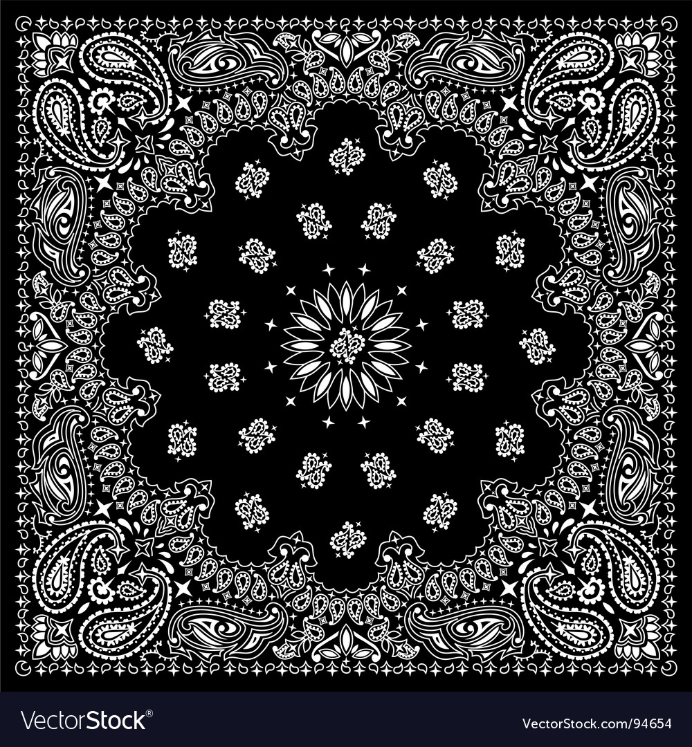 Bandana black vector | Price: 1 Credit (USD $1)