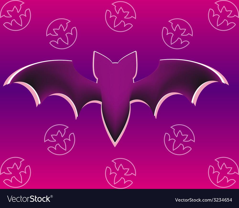 Bat five vector | Price: 1 Credit (USD $1)