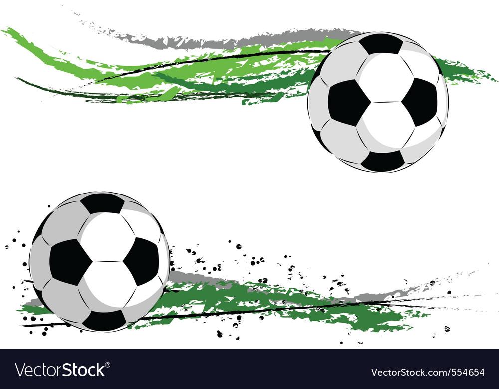 Football border vector | Price: 1 Credit (USD $1)
