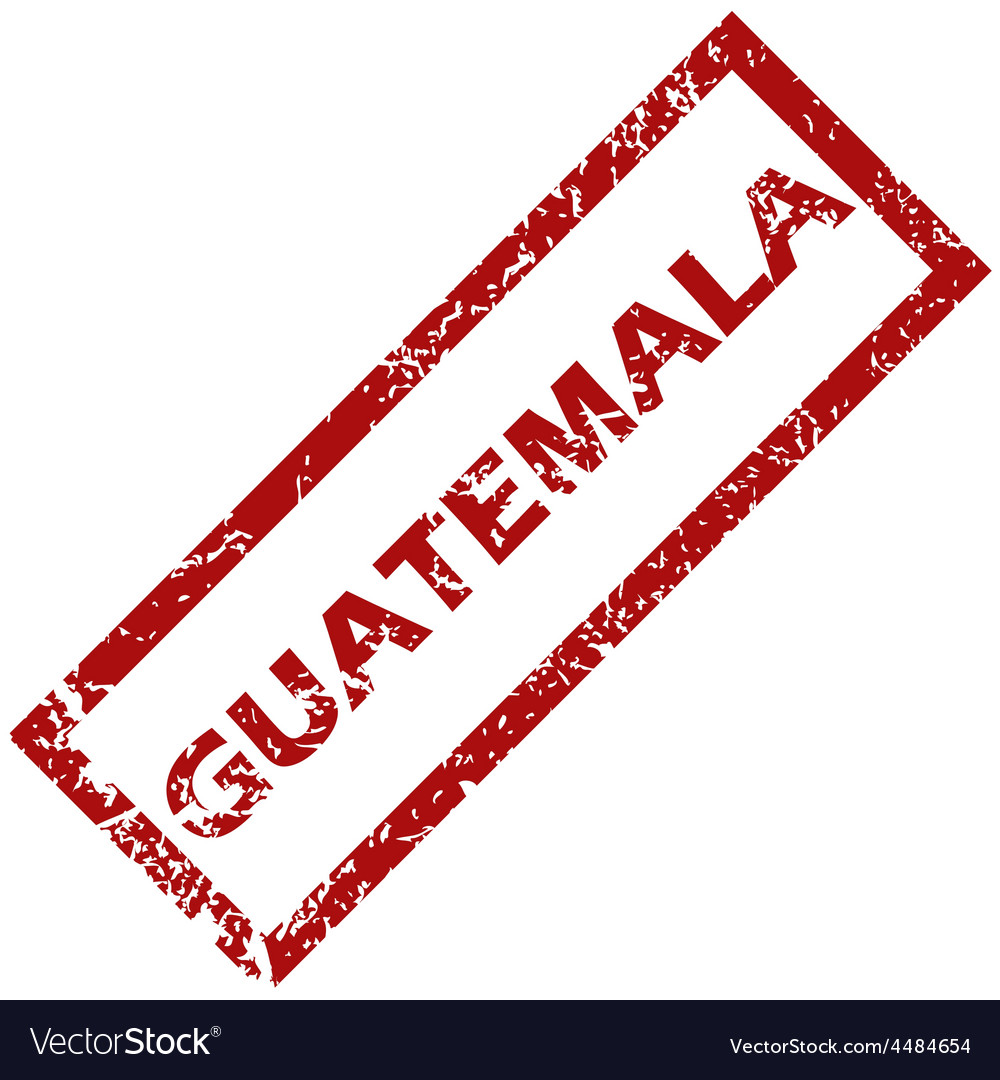 New guatemala rubber stamp vector   Price: 1 Credit (USD $1)