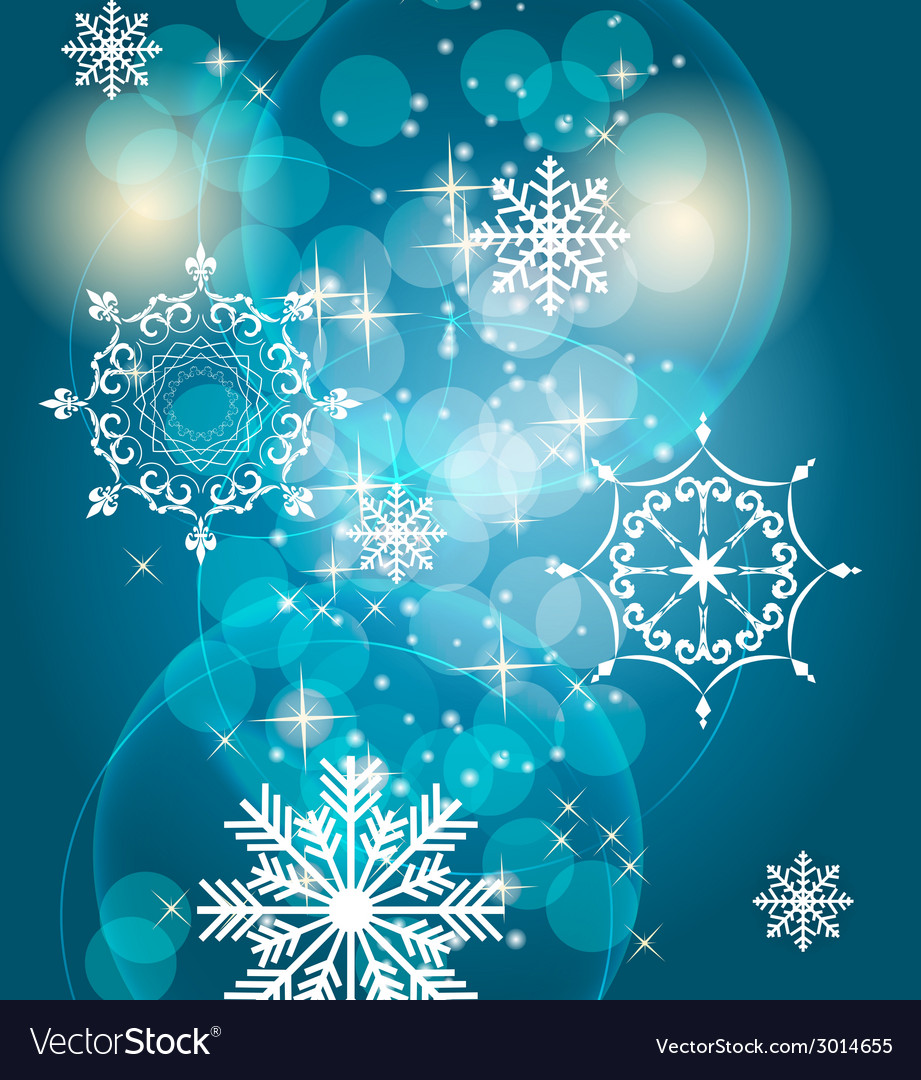 Abstract beauty christmas and new year background vector | Price: 1 Credit (USD $1)