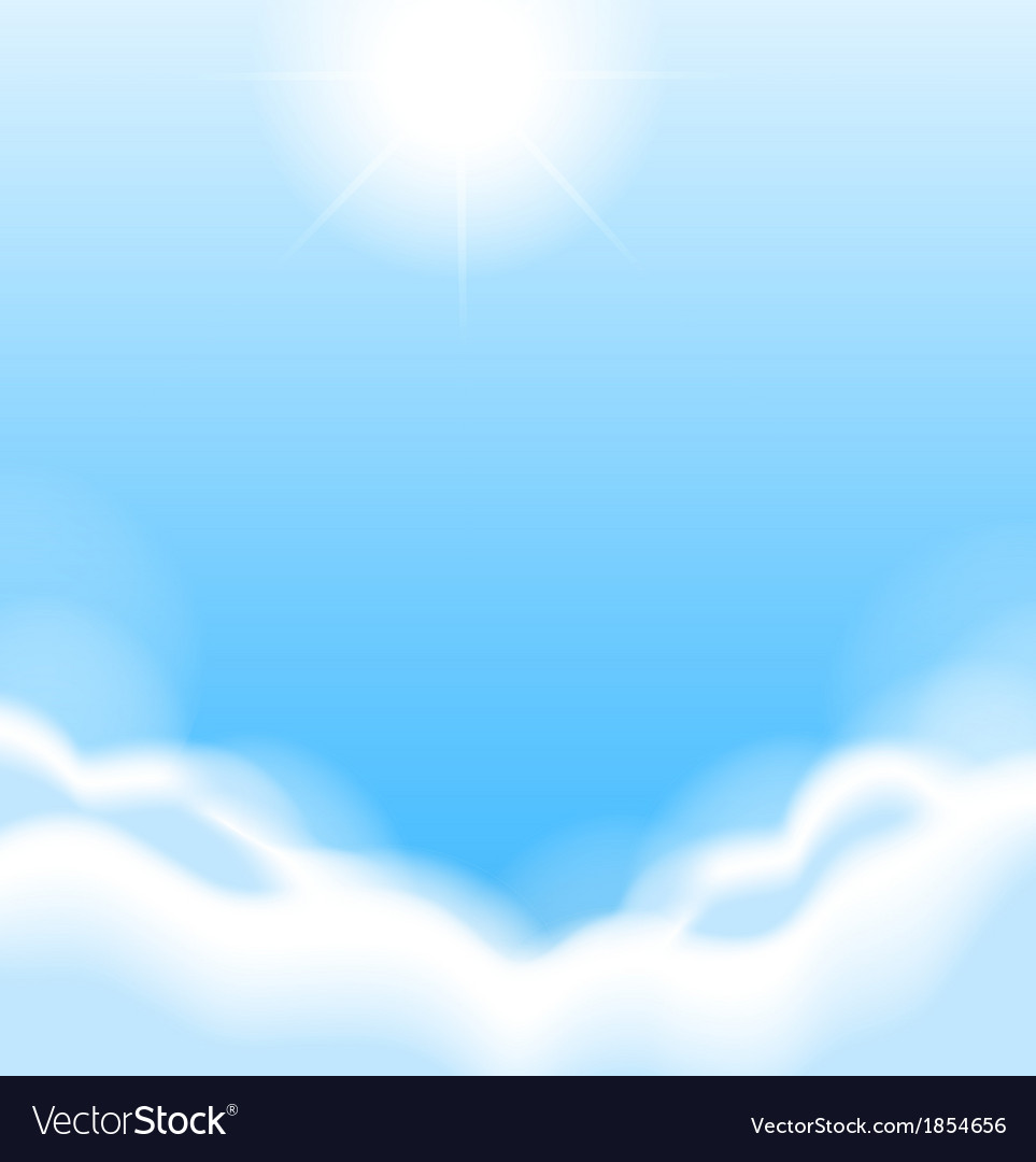 Morning sky vector | Price: 1 Credit (USD $1)