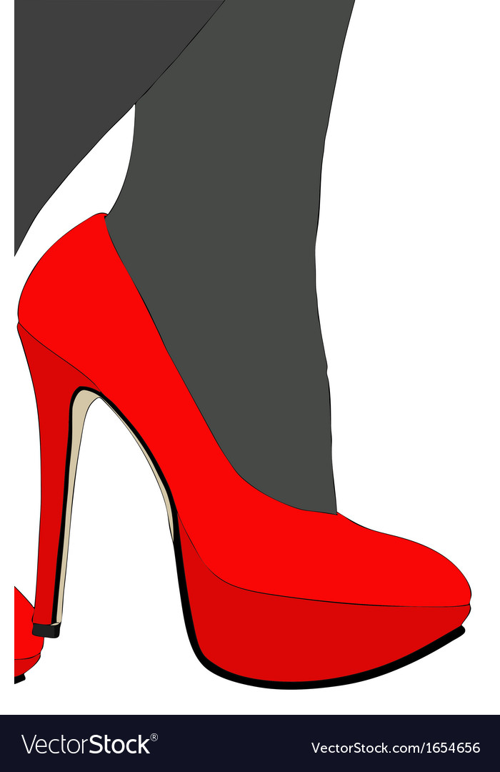 My beautiful shoes 01 vector | Price: 1 Credit (USD $1)