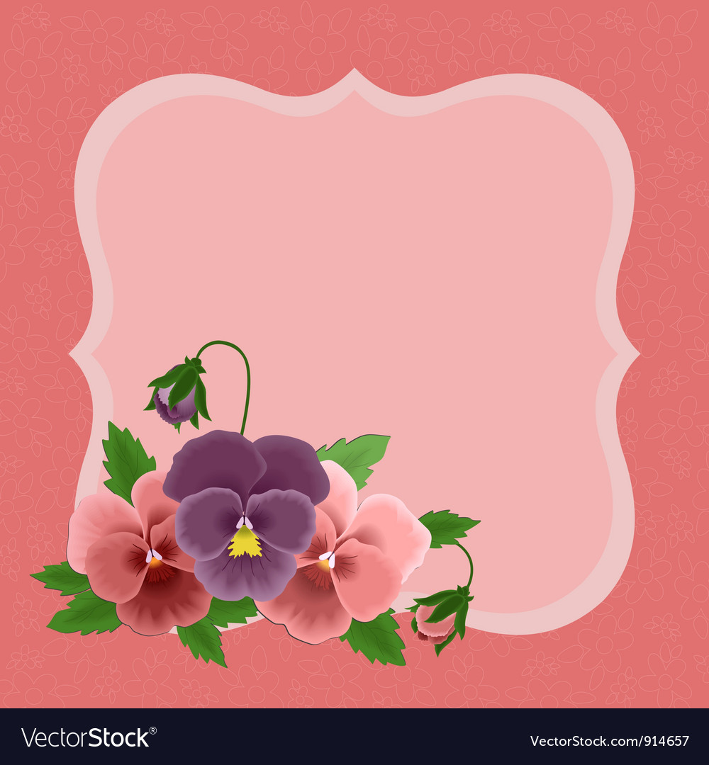 Greetings card for mothers day vector | Price: 1 Credit (USD $1)