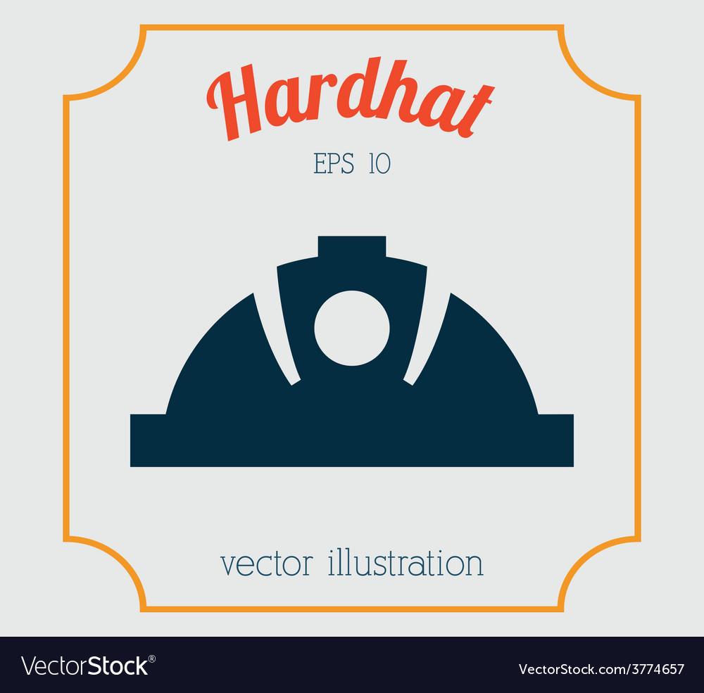 Hardhat icon design vector | Price: 1 Credit (USD $1)