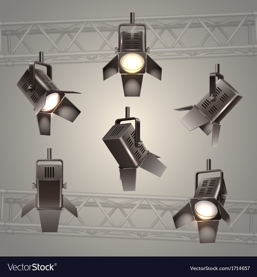 Stage lighting vector | Price: 1 Credit (USD $1)