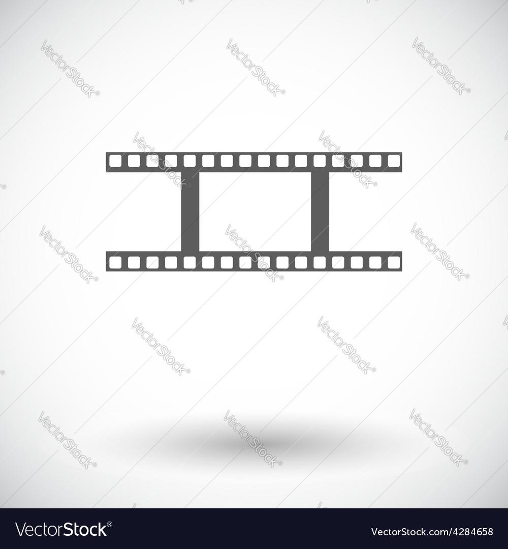 Film flat icon vector | Price: 1 Credit (USD $1)