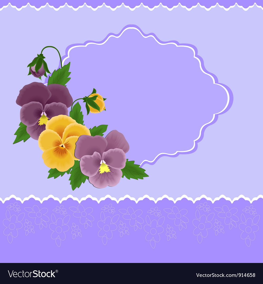 Greetings card for mothers day vector   Price: 1 Credit (USD $1)