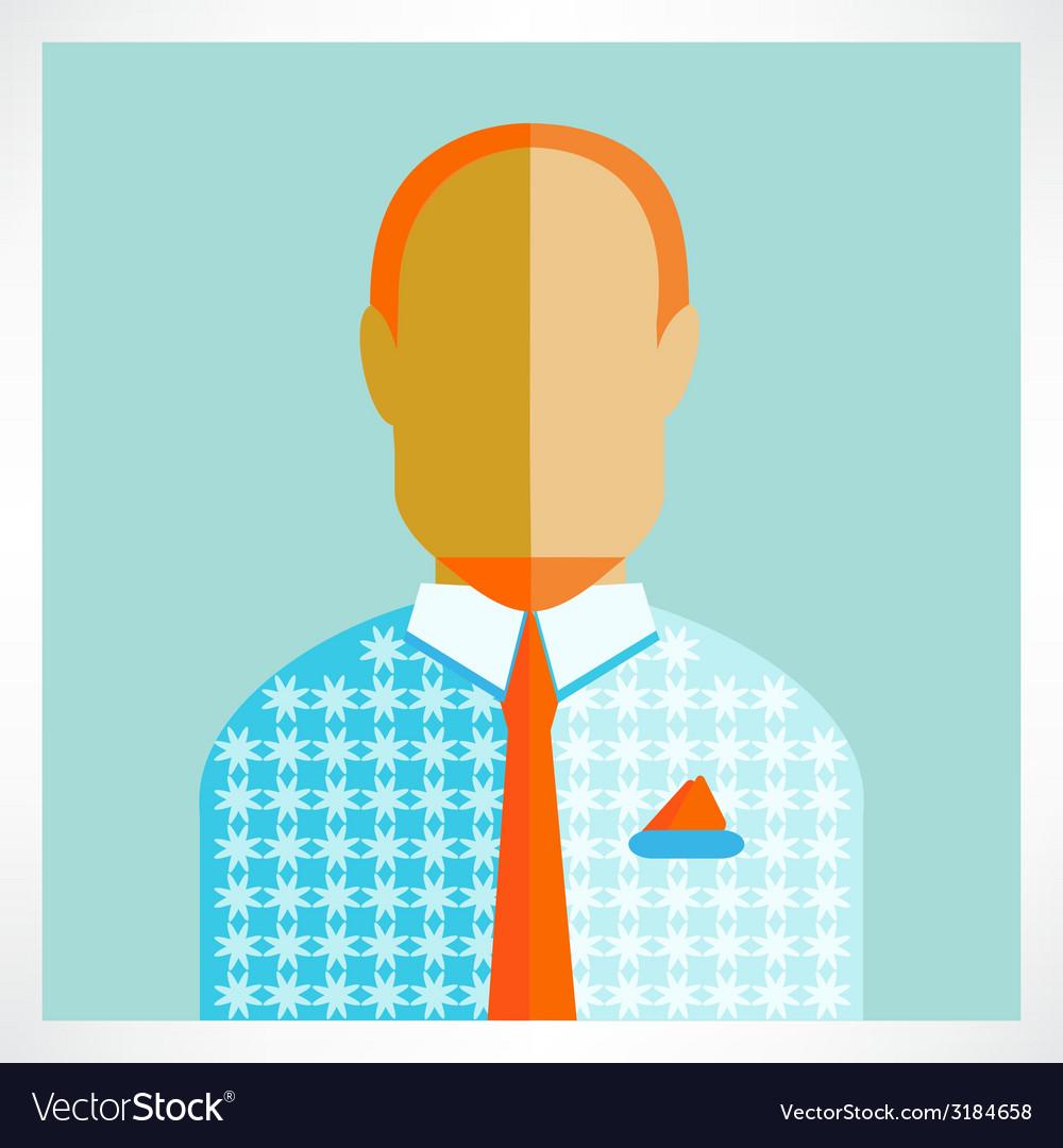 Man flat icons vector | Price: 1 Credit (USD $1)