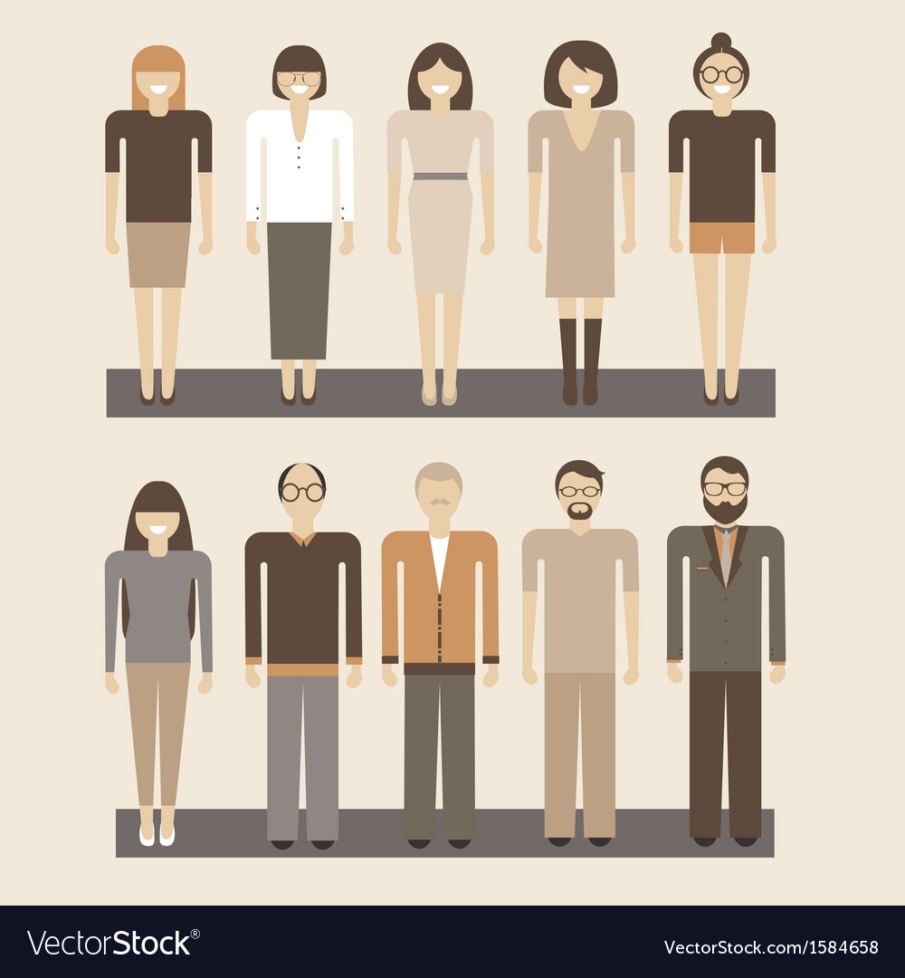 Office people vector | Price: 1 Credit (USD $1)