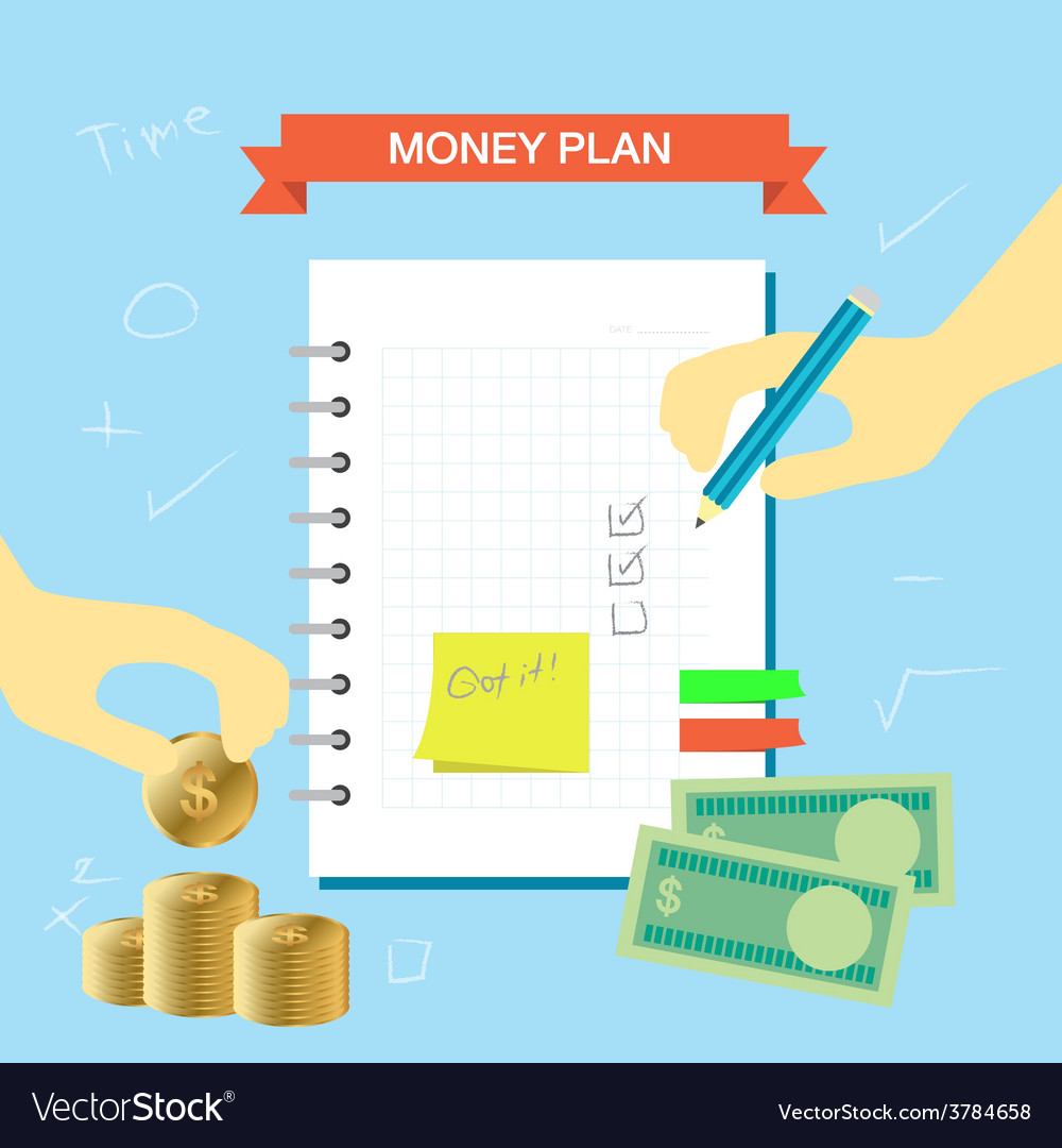 Plan note 003 vector | Price: 1 Credit (USD $1)