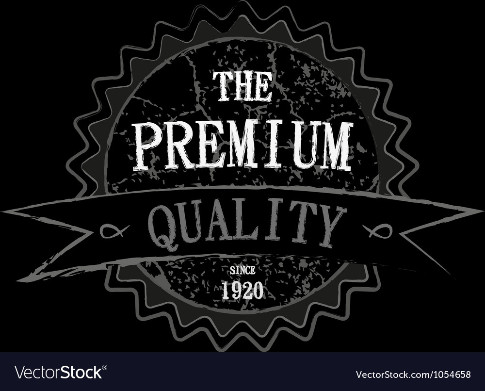Retro grunge label vector | Price: 1 Credit (USD $1)