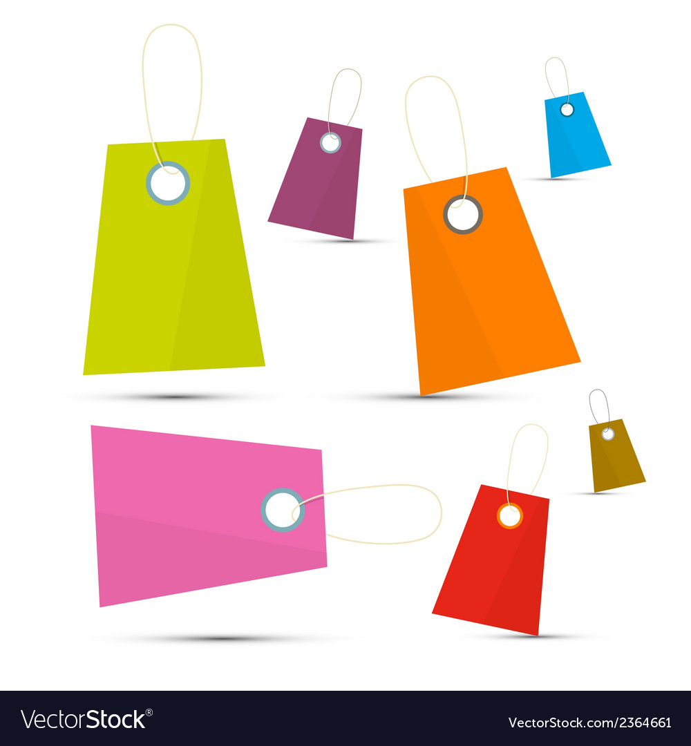 Colorful labels set vector | Price: 1 Credit (USD $1)