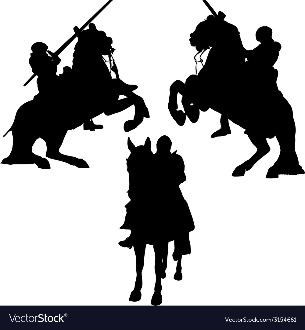 Knights1 vector | Price: 1 Credit (USD $1)