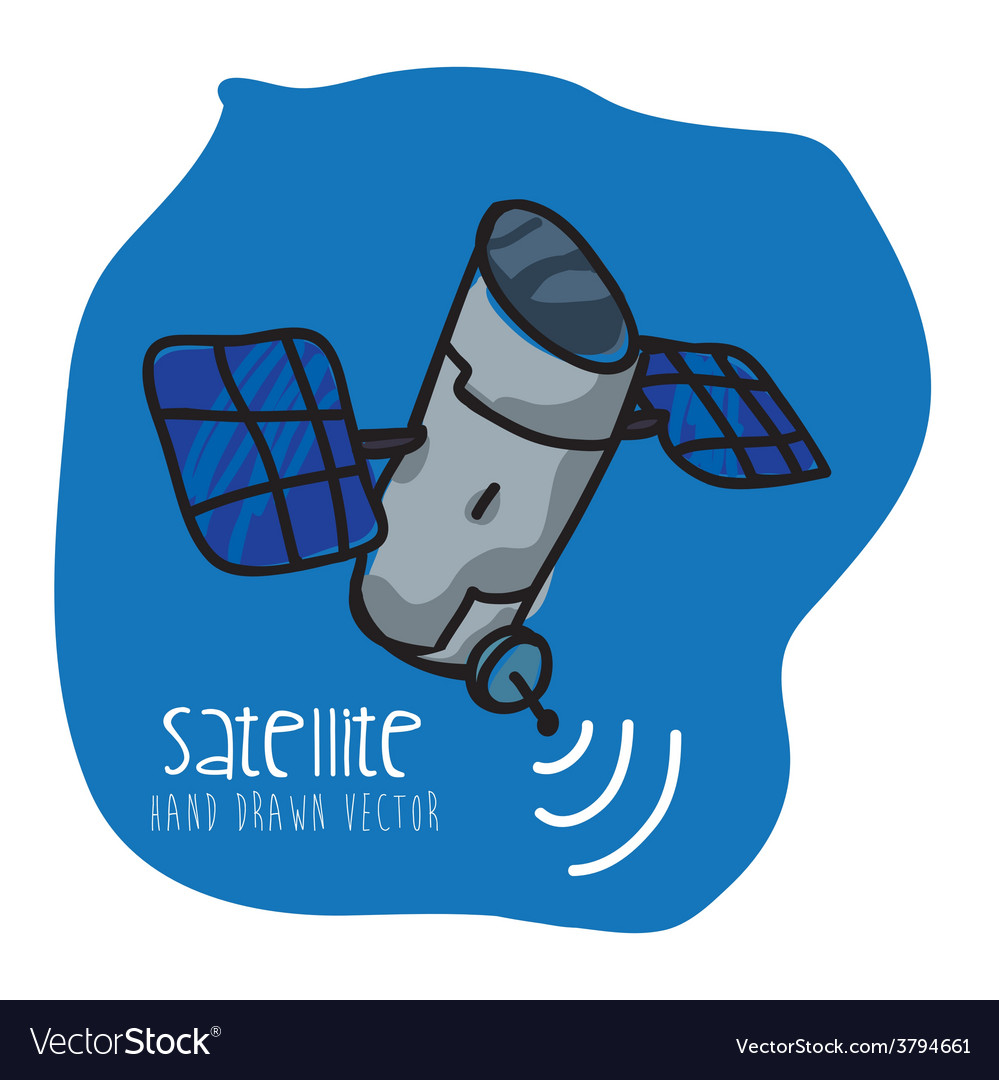 Satellite icon vector | Price: 1 Credit (USD $1)