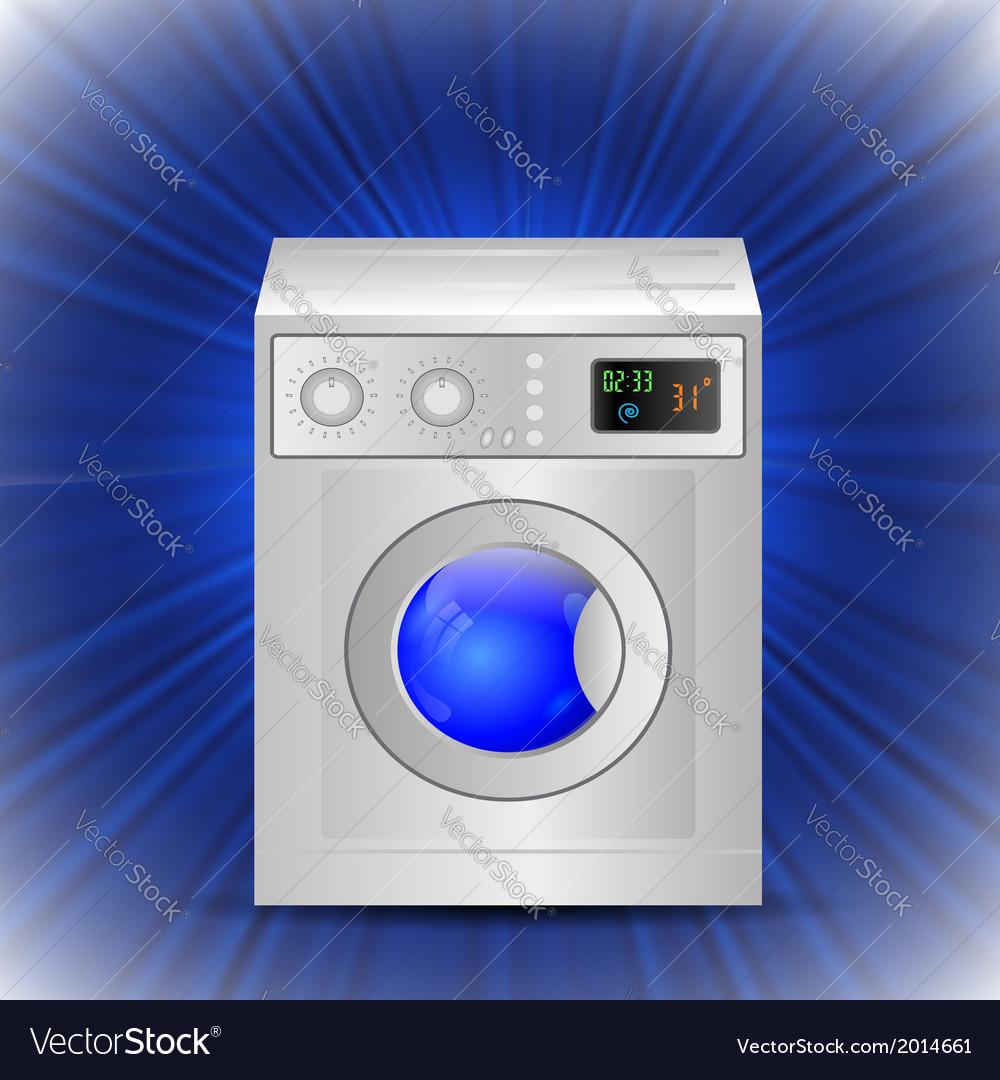Washing mashine vector | Price: 1 Credit (USD $1)