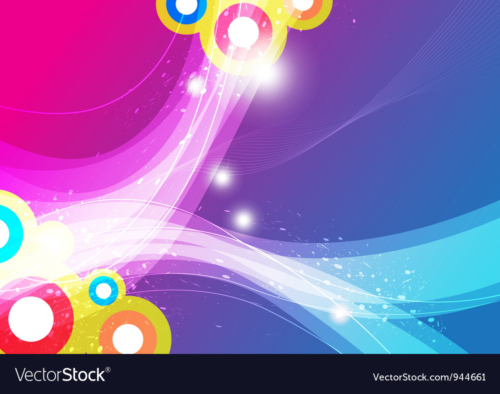 Wave abstract background vector   Price: 1 Credit (USD $1)