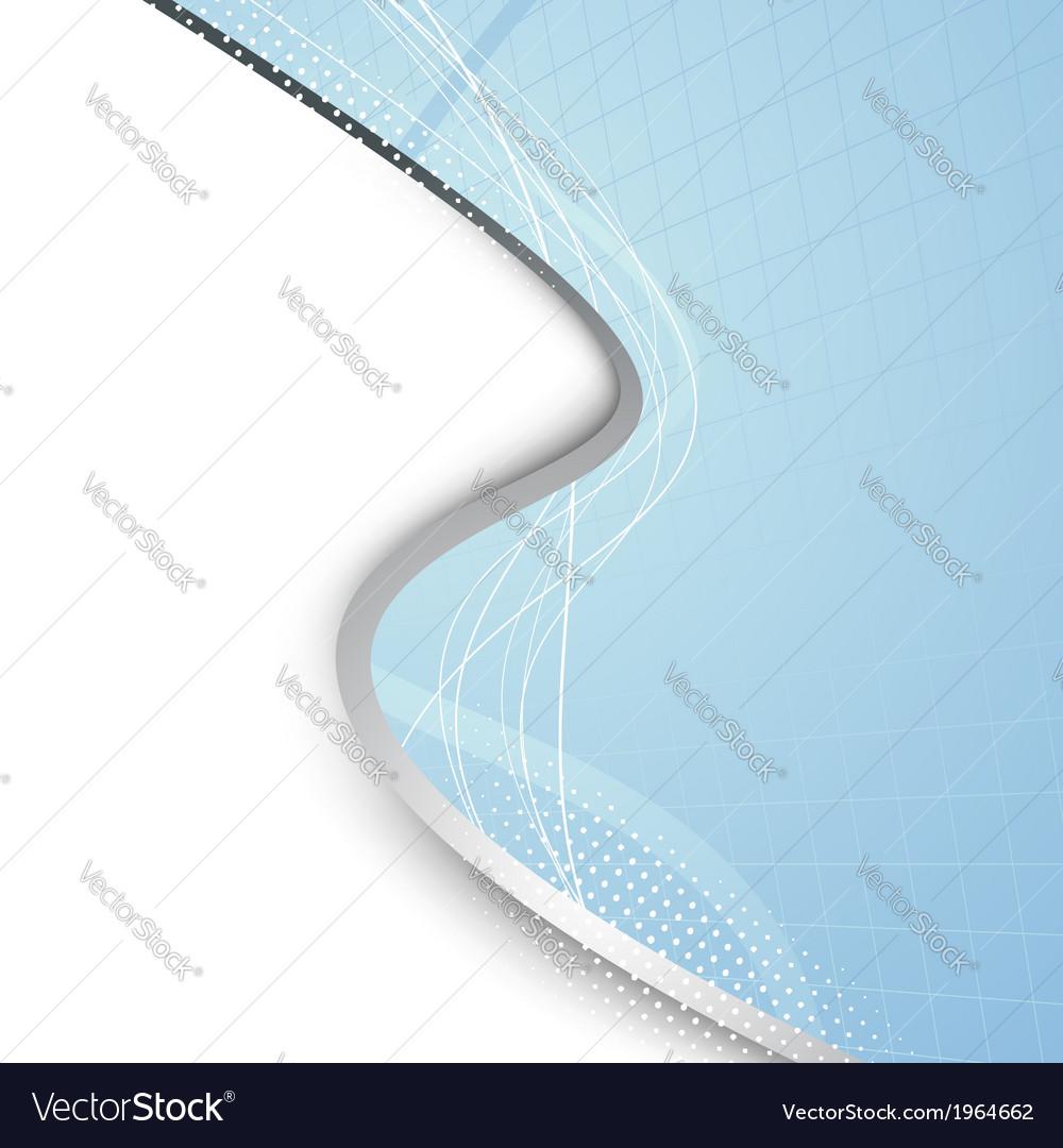 Geometrical folder template metal border vector | Price: 1 Credit (USD $1)