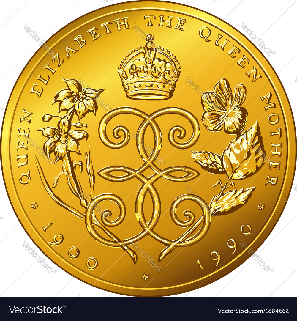 Money gold coin dollar bermuda vector | Price: 1 Credit (USD $1)