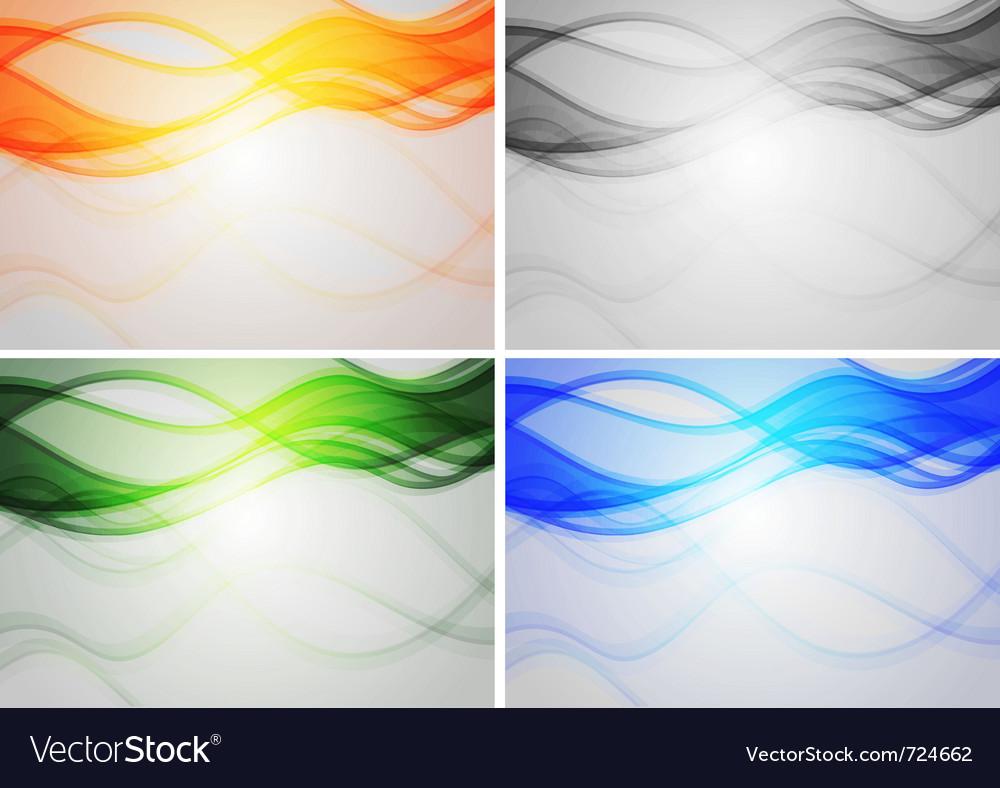 Vibrant backdrops vector | Price: 1 Credit (USD $1)