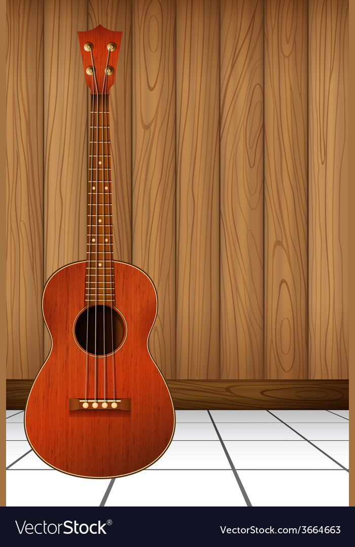 A guitar vector | Price: 1 Credit (USD $1)