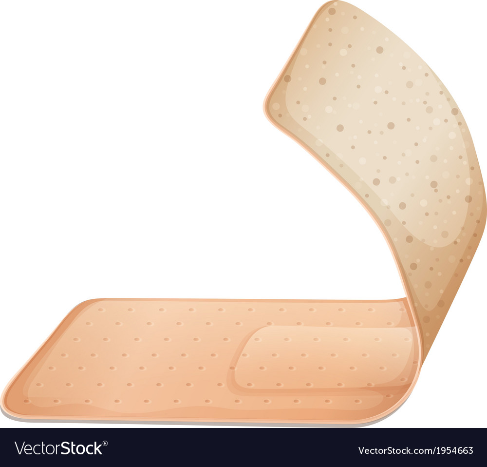 A medical plaster vector | Price: 1 Credit (USD $1)