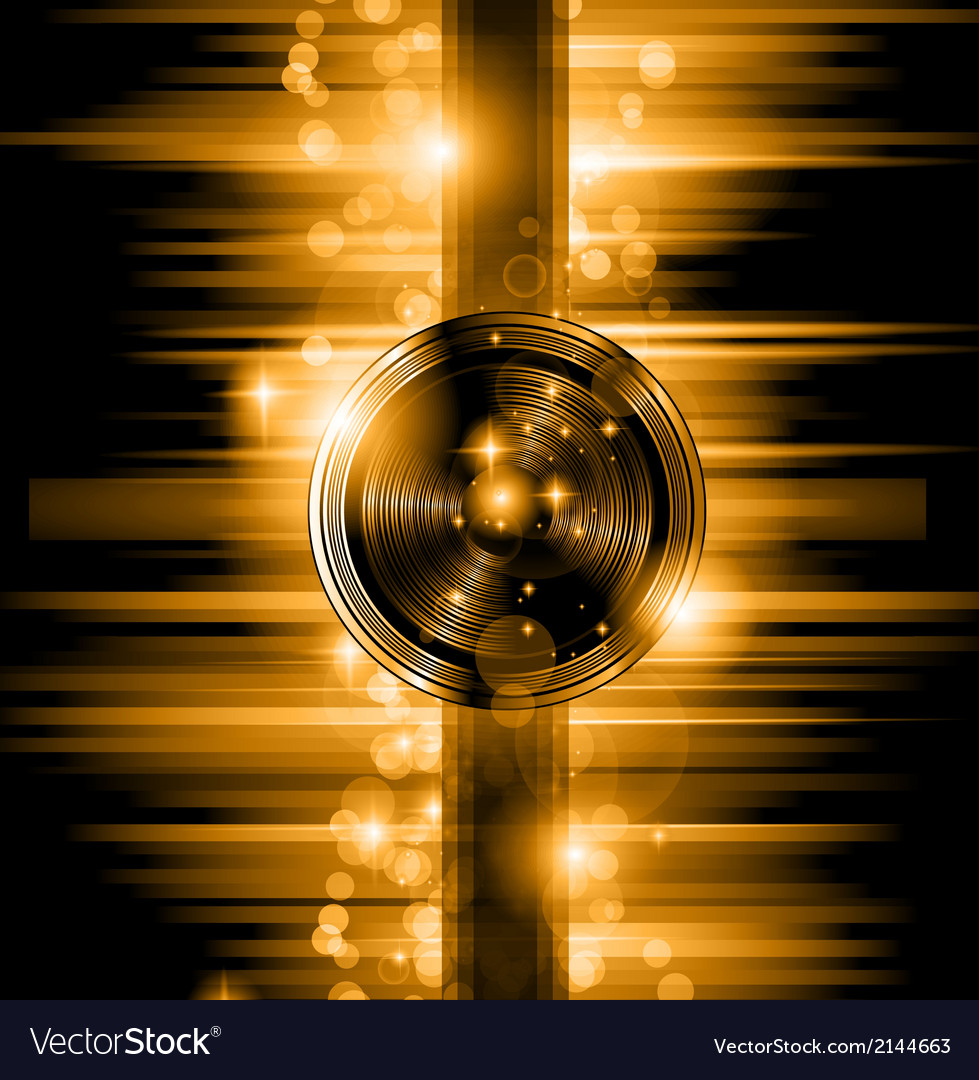 The art of disco flyer - stunning speakers vector | Price: 1 Credit (USD $1)