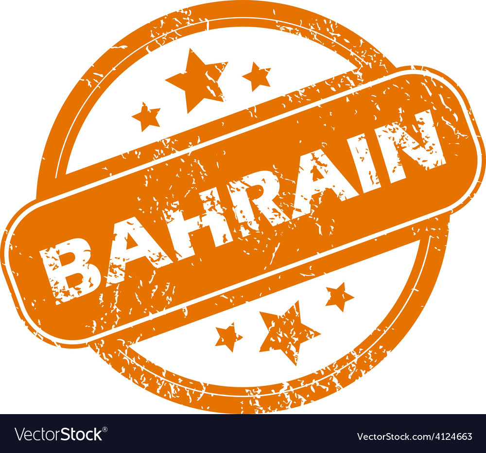 Bahrain grunge icon vector | Price: 1 Credit (USD $1)