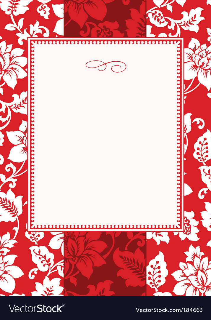 Christmas pattern and frame vector | Price: 1 Credit (USD $1)