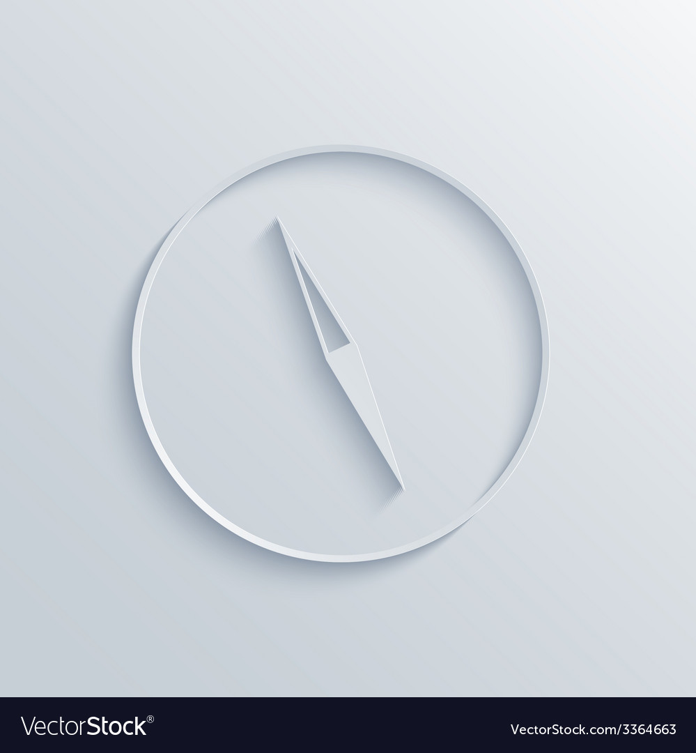 Modern compass background vector | Price: 1 Credit (USD $1)