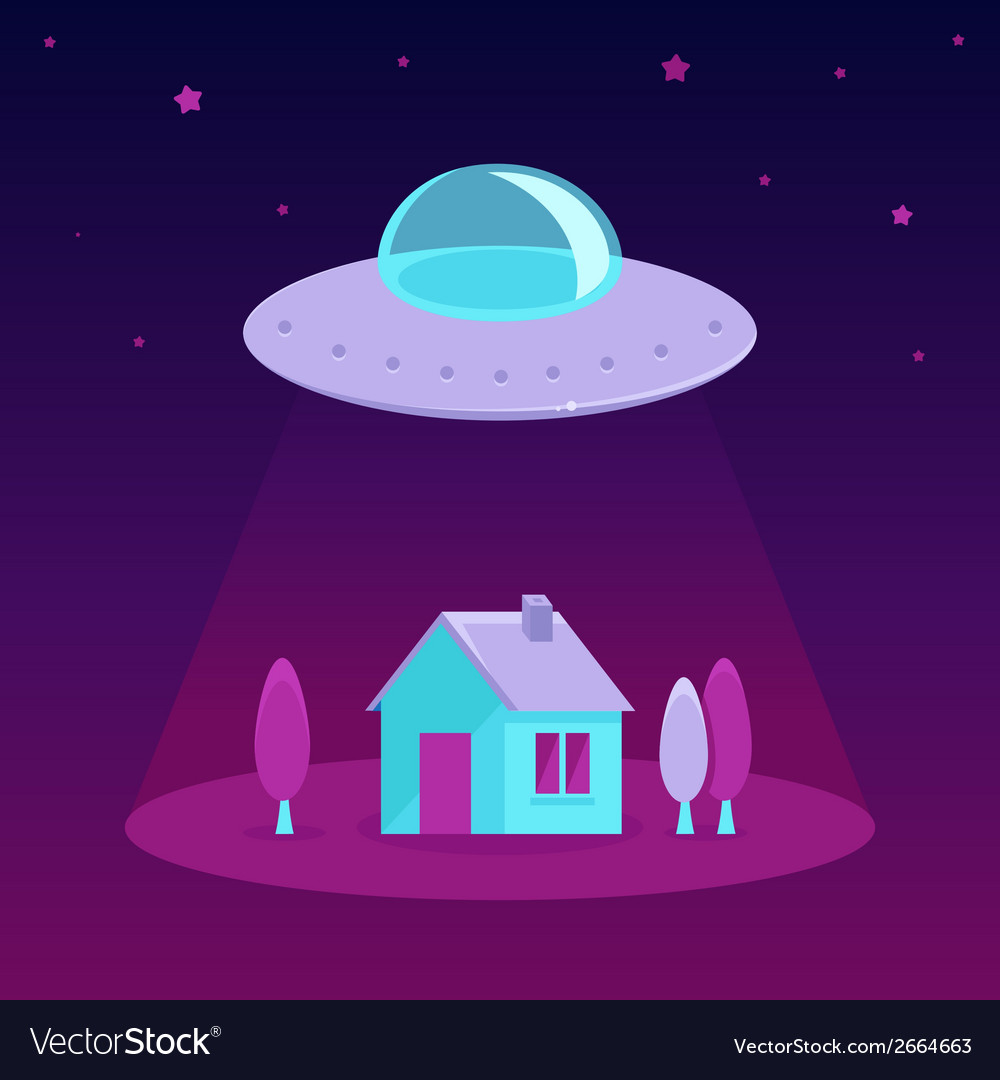 Ufo vector | Price: 1 Credit (USD $1)