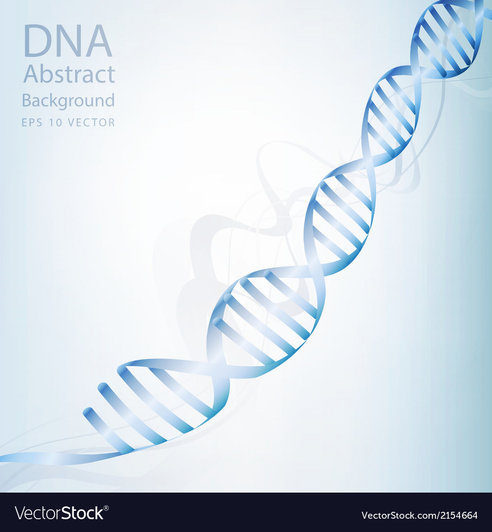 Dna abstract light white colour background vector | Price: 1 Credit (USD $1)
